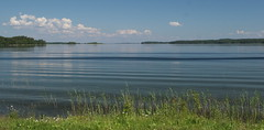 Clean Water and Blue Sky Idyll (Sergei P. Zubkov) Tags: water june suomi finland landscape 2009 kerimki puruvesi