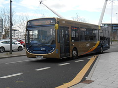Stagecoach in South Wales 27283 (welsh bus 16) Tags: southwales newport cummins stagecoach 27283 enviro300 stagecoachgold sn65oeb
