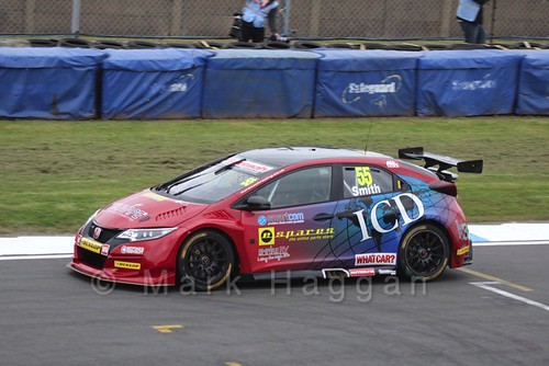 Jeff Smith in the BTCC Media Launch Event 2016