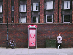 phonebox (Sam Turner) Tags: street uk cambridge kingstreet telephonebox 2016 olympusep1 utata:project=peopleandphones