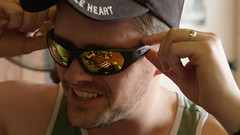 Patrick with Liberty Sport Sunglasses