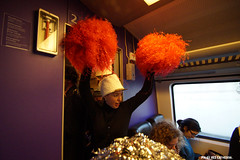 On the way home bands spontanously started playing & dancing in the train (Red Cathedral [FB theRealRedCathedral ]) Tags: brussels music train movement peace fiesta cheerleaders belgium belgique greenpeace trumpet bruxelles demonstration antiwar immigrants majorette sax brussel crisis saxophone brassband syrian fanfare 111111 antifa neoliberalism acod pompomgirls eventcoverage aztektv toutautrechose lagrandeparade hartbovenhard degroteparade