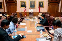 Meeting Cleveland Mayor Frank Jackson