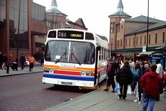 Stagecoach Manchester 240 (WBN 474T) (SelmerOrSelnec) Tags: bus stockport gmt lut 386 leylandnational stagecoachmanchester wbn474t