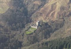 Castle Campbell, Clackmannan 2009 (RCAHMS) Tags: castle landscape scotland aerial hes 2009 castlecampbell aerialphotograph clackmannan rcahms historicenvironmentscotland dp061735