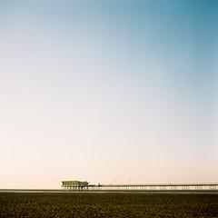 Southport Pier (iantaylorphoto) Tags: 6x6 mamiya film kodak medium format portra c330