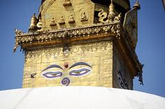 EYES (Jgunns91) Tags: travel nepal travelling religious temple nikon asia peace buddhism wanderlust explore discover natgeo swayumbhunath