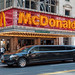 Limousine in front of Mc Donalds @ Times Square
