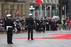 Vice Admiral Mark Norman at the Battle of the Atlantic ceremony on Parliament Hill (Mark Blevis) Tags: ottawa wwii ceremony parade atlantic parliamenthill battleoftheatlantic