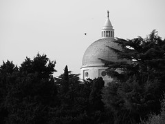 Roma_093_35100 (Dubliner_900) Tags: bw rome roma monochrome olympus cupola dome biancoenero lazio micro43 omdem5markii lumixgx35100mmf28