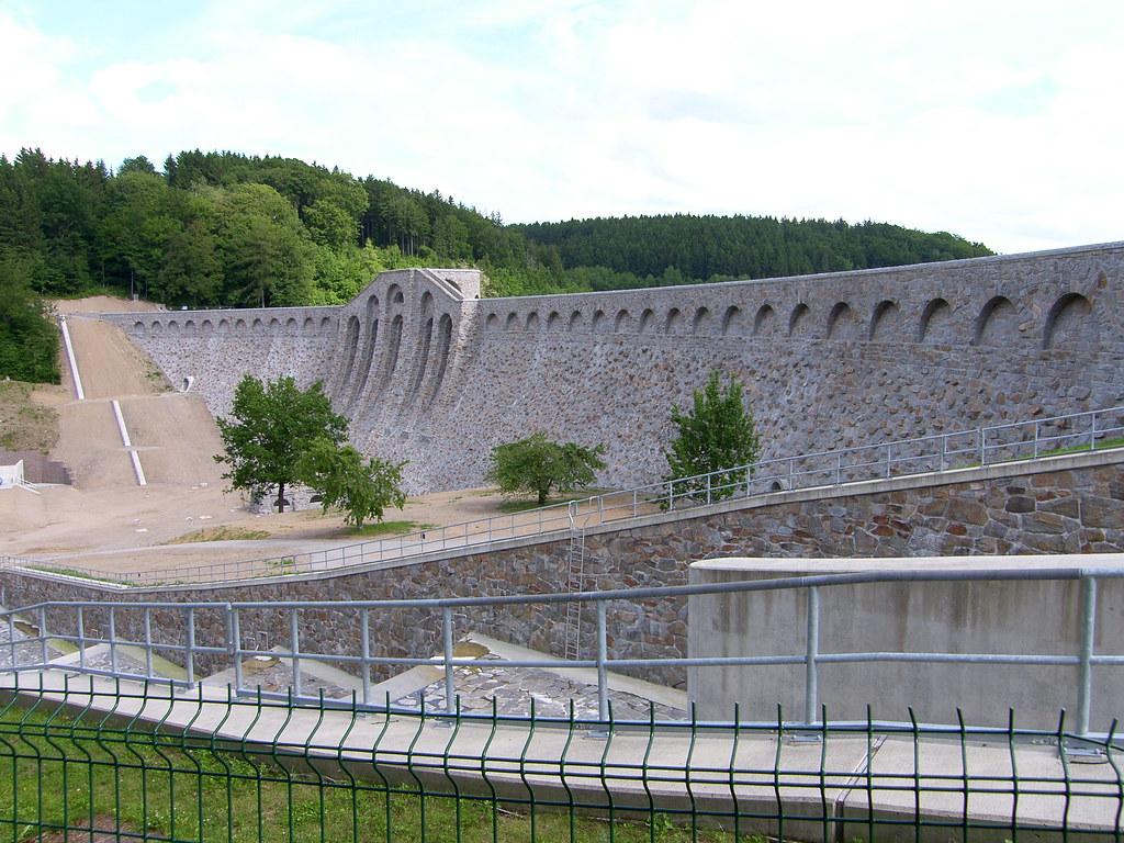 Beeindruckend Sachsendamm 20 Sammlung Von Trinkwassertalsperre Klingenberg (seesturm) Tags: Wasser Dam Saxony