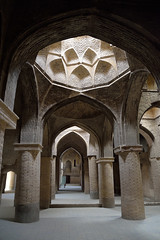 Masjid-e Jameh (dan & emily) Tags: islam prayer mosque esfahan shiite farsi iranianarchitecture masjidejameh