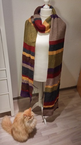 """Doctor Who Scarf • <a style=""""font-size:0.8em;"""" href=""""http://www.flickr.com/photos/92578240@N08/26318906140/"""" target=""""_blank"""">View on Flickr</a>"""