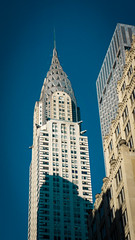 Chrysler Building, NYC (Jeffrey) Tags: nyc newyork tower architecture skyscraper buildings spring skyscrapers manhattan landmarks officebuilding officebuildings landmark midtown chryslerbuilding offices 2016 midtowneast