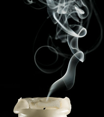 Smoke (Prismator) Tags: macro fire candle smoke sony sigma kerze alpha makro feuer schwarz 6000 rauch 105mm weis ilce6000