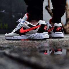 Nike Icarus white bright Crimson black... (konsortium.avignon) Tags: white shoes sneakers nike og icarus konsortium sneakerfreaker uploaded:by=flickstagram instagram:photo=1184275514813229533329377217