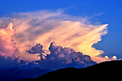 DSC_0036 Cloud over the cloud (tsuping.liu) Tags: lighting sunset sky cloud mountain nature landscape outdoor dusk naturesfinest natureselegantshots whatherphotography
