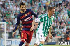 Betis - Barcelona 049 (VAVEL Espaa (www.vavel.com)) Tags: fotos bara rbb fcb betis 2016 fotogaleria vavel futbolclubbarcelona primeradivision realbetisbalompie ligabbva betisvavel barcelonavavel fotosvavel juanignaciolechuga