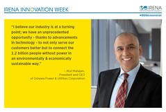 InnovationWeek_AtulMahajan (International Renewable Energy Agency (IRENA)) Tags: energy innovation renewable tweets internationalrenewableenergyagency