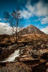 Buachaille Etive Mor (Dan_1981) Tags: longexposure mountain landscape scotland waterfall long exposure 10stop