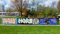 Graffiti Capelsebrug (oerendhard1) Tags: urban streetart art graffiti rotterdam horn capelsebrug