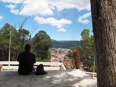 sitting, watching  San Christobal, Mexico (mohn_nika) Tags: city mexico san view yucatan mexiko christobal