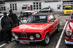 OLDTIMER BMW (wildbam25) Tags: auto old 2002 red rot sony carl bmw oldtimer alpha oldie a7 3er a7ii selten raritt