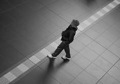 takeawalk-3240110 (jessylein1) Tags: street blackandwhite bw station japan kyoto strasse streetphotography bahnhof olympus railwaystation stadt schwarzweiss strassenfotografie streetfotografie omdem5