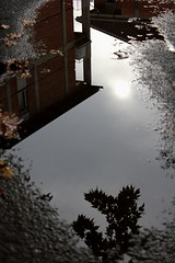 puddle (alkutraes) Tags: sky water puddle cielo acqua riflesso pozzanghera operair alkutraes