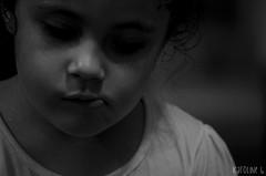 If this feeling flows both ways? (Karoline Bastos) Tags: girls light portrait blackandwhite bw baby love girl beauty face kids angel dark children photo kid amazing nikon toddler pretty alone photographer child sad close darkness natural princess sweet g pb babygirl angry littlegirl garota lonely feeling menina littleprincess pretoebranco darkphotography mistery sobrinha garotinha childphotography 5yearsold kidphotography braziliangirl sweetthings nikonworld nikonphotography brazilianchild d7000 outcolor effyb 5now