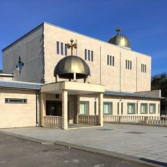 St. Maria Church Bergsjn (hansn (2 Million Views)) Tags: building church architecture gteborg square sweden maria gothenburg sverige sta kyrka goteborg bergsjn stmaria squarish sankta bildstrom