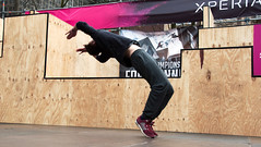 2016_April_freerun1-1195 (jonhaywooduk) Tags: urban sports netherlands amsterdam jump kick air spin platform teenagers free twist running runners athletes flick mid parkour