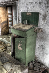 Production Manager Desk (Fine Art Foto) Tags: urban abandoned paper decay urbandecay heavymetal forgotten urbanexploration rotten derelict decaying urbex paperfactory lostplaces oldindustry lostplace