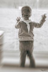 Farewell (photographe_d) Tags: portrait window girl monochrome fairytale mono sad drama abschied danielklblinger