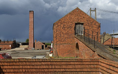 An enduring industry ... (Alan Burkwood) Tags: red brick industry traditional humber bartonuponhumber tilemakers williamblyth
