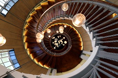 Cecil Brewer staircase (pooly7) Tags: building architecture stairs spiral design movement interior staircase escalier spirale heal heals