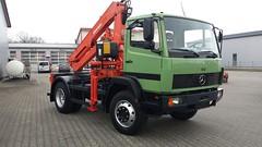 MB 914 (Vehicle Tim) Tags: truck mercedes kran mb ln lkw laster schwerlast