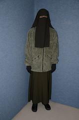DSC_9631 (Buses,Trains and Fetish) Tags: girl warm hijab torture sweat fleece niqab slave burka chador