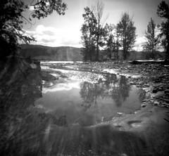 spring, tranquille creek (Bernie Vander Wal) Tags: mediumformat pinhole d76 selfmadecamera shanghaigp3