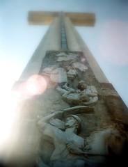 cross murals (chenb.reyes) Tags: film lomo lomography bataan samat