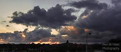 DSC_6646_Lr-edit (Alex-de-Haas) Tags: light sunset reflection netherlands clouds landscape fire licht zonsondergang nederland thenetherlands wolken dyke dijk dike landschap noordholland vuur reflectie petten coastalarea spreeuwendijk kunstgebied