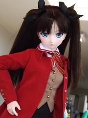 Obiwanivan's Rin 1 (sakura_chan15) Tags: dd fatestaynight dollfiedream tohsakarin