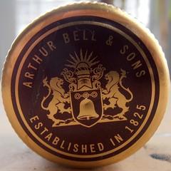 Circled Bells Whiskey (sq#0526) (Navi-Gator) Tags: bells circle details year whiskey drinks squaredcircle whisky 1825