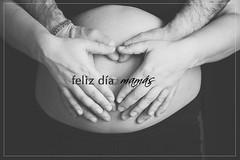 (Coral ML) Tags: blackandwhite baby hands mam pregnancy manos bn madre embarazo dadelamadre tripa