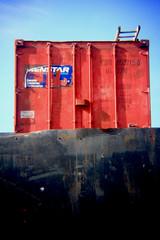 Bromley-By-Bow (madeleine fitzsimons selen) Tags: london holga skip bromleybybow holgalens