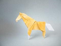 Tormenta China - Patricio Kunz (Rui.Roda) Tags: china horse cheval origami tormenta cavallo cavalo papiroflexia patricio kunz papierfalten