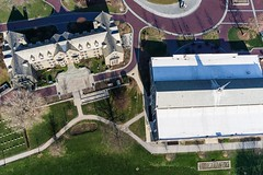 Villanova University from Above (Wind Watcher) Tags: kite university kap villanova dopero windwatcher
