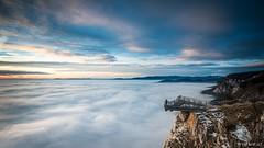 Hohe Wand - Portrait (Wim Air) Tags: winter sunset cliff mountain snow colors sunrise austria rocks view wand lower bernhard hohe wimmer wimairat