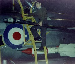 Foxtrot XP706 of 111 Sqn RAF on QRA 1971 (Aden30) Tags: 1971 suffolk fighter jet missile raf coldwar interceptor supersonic wattisham qra firestreak baclightning eelightning