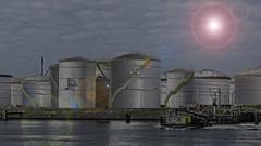 Vopak - 7e Petroleumhaven - Calandkanaal - Port of Rotterdam (F. Berkelaar) Tags: europoortrotterdam zuidholland nederland nl vopak opslagtanks europoort rotterdam portofrotterdam calandkanaal 7epetroleumhaven neckarweg twop